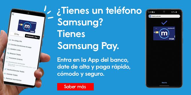 Samsung Pay Banco Mediolanum